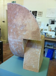 More Peace and Quiet 2011 Fired clay
