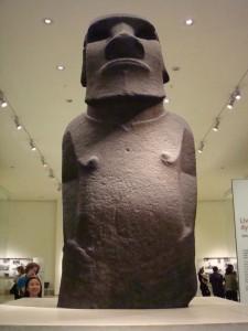 Hoa Hakananai'a Easter Island Polynesia courtesy British Museum