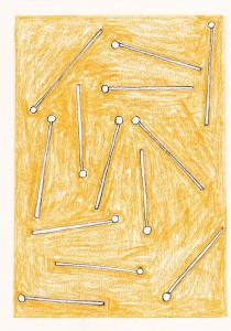 Mallets 2011 Pencil and crayon