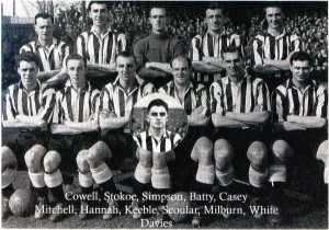 Newcastle United in the 1950s
