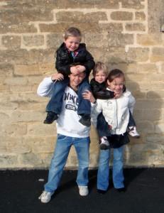 Sam, Georgia, Alfie and Archie