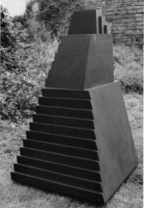 Pyramid 1973 Polyester resin and fibreglass