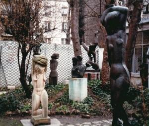 Ossip Zadkine The studio garden