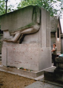 Jacob Epstein Tomb of Oscar Wilde 1914