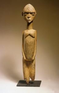 Lobi shrine figure Wood