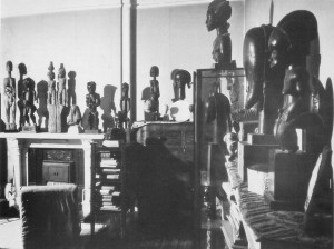 Part of the Sir Jacob Epstein collection of African Art
