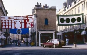 Matt Mullican Four Banners 1988