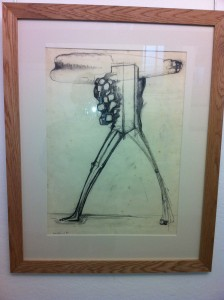 Abraham 1960 Pencil and charcoal